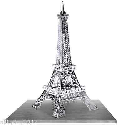 Fascinations Metal Earth Metal Works 3D Laser Cut Model Eiffel Tower MMS016
