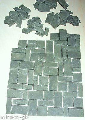 Minaco Old York green /Weathered Slate Grey Random flagstones x 128 only £13.99