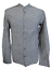 Indexbild 2 - Herren Leinenhemd Freizeithemd Langarm Grau Blau Weiß Gr. S M L XL XXL