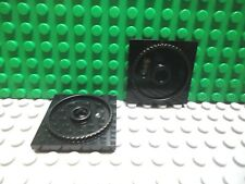 368026 Brick 3680 LEGO NEW 2x2 Black Turntable Plate Base 5x