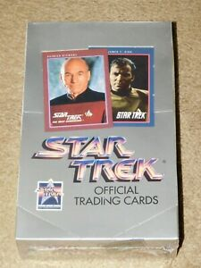 Impel Star Trek The Next Generation Collector Cards Box Brand New Sealed 36 Pack
