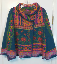 IVKO Wool Cardigan Sweater Jacket Size L - 40