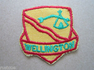 Wellington-Canada-Canadian-Boy-Scouts-Scouting-Woven-Cloth-Patch-Badge