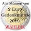 Alle-2-Euro-Gedenkmuenzen-2019 Indexbild 1