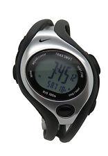 New Nike Triax Swift Digital LX WR0090 001 Black Sterling Sports Runners Watch