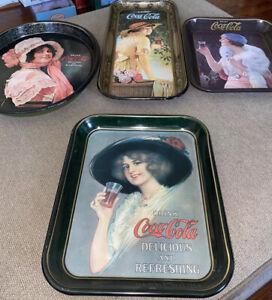 1972 Vintage Coca Cola trays