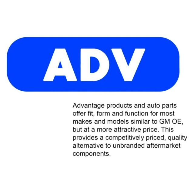 ACDelco 46A1009A Advantage Inner Driver Side Steering Tie Rod End