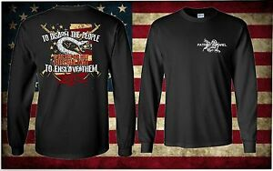 2nd-Amendment-Long-Sleeve-Don-039-t-Tread-On-Me-T-Shirt-DTOM-Pro-Firearm-Gun-Gadson