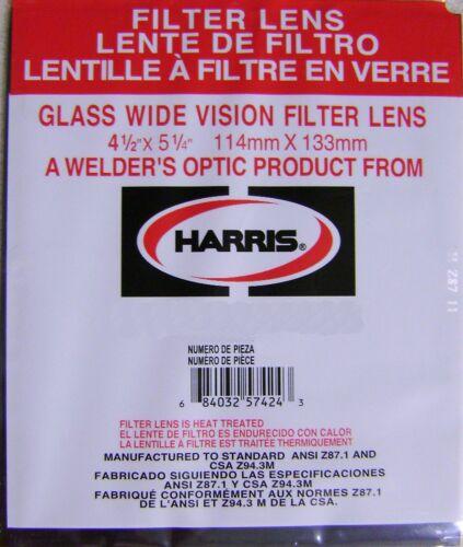 """Harris Shade 7 Welding Helmet Glass Filter Plate Lens 4 1//2/"""" x 5 1//4/"""" 1045070"""