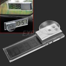 Orologio LCD Digitale Base a Ventosa Fissaggio Cruscotto Auto Veicoli Camion