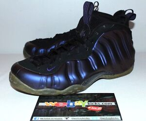 f483bcb24d1 Image is loading Nike-Air-Foamposite-One-Eggplant-Purple-Sneakers-Mens-
