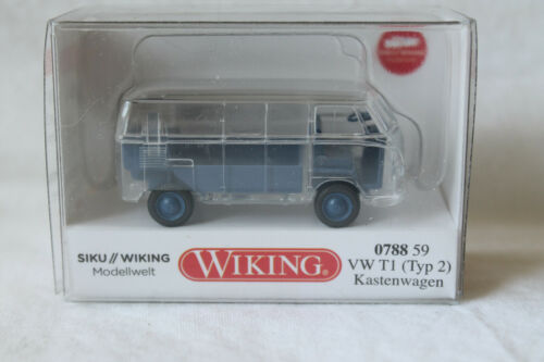 siku//Wiking modelo mundo Wiking 0788 59 VW t1 recuadro transparente nuevo!!