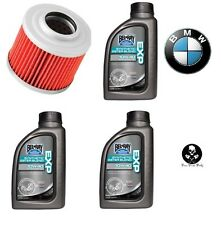 BMW G650X Moto 2007–2008 Bel-Ray EXP Synthetic 4-Stroke Motor Oil &Filter Kit