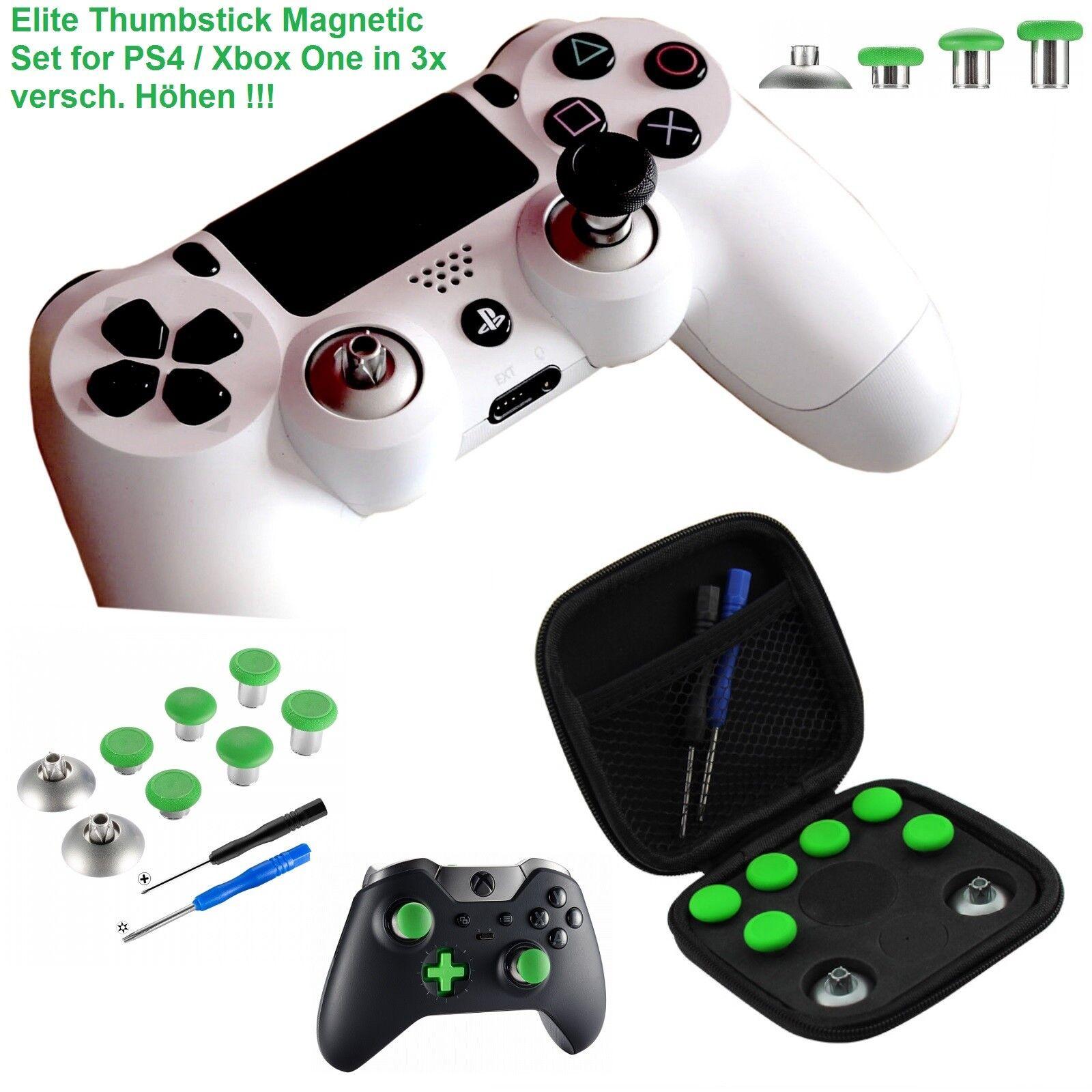 Elite Thumbstick Modding Set PS4 & Xbox 1 Controller Magnetic