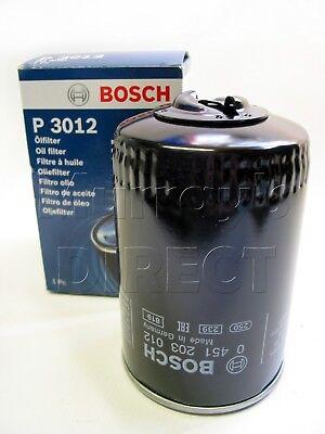 Mk4 1.9 TDI 5 an de garantie neuf Bosch Moteur Filtre à huile Fits VW Polo