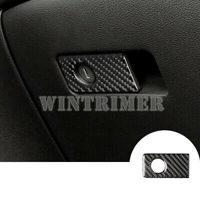 For Benz GLC X253 Rhinestone Style Console Glove Box Button Trim Cover 2015-2019