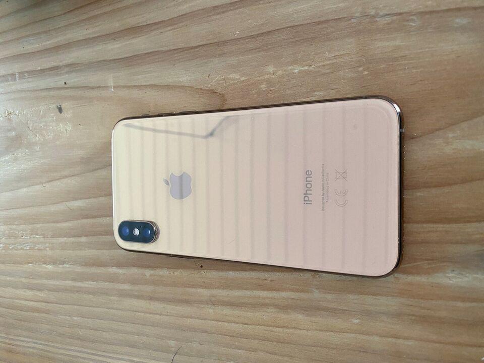 iPhone XS, 64 GB, gul