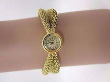 Vintage 18k yellow gold Piaget Swiss Bracelet watch