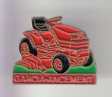 RARE PINS PIN'S .. AGRICULTURE TRACTEUR TRACTOR TONDEUSE MOTOCULTURE GARCIA A~DD
