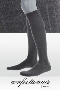 Herren-Kniestruempfe-PREMIUM-Luxus-Cashmere-Seide-Gentleman-Confectionair-B52