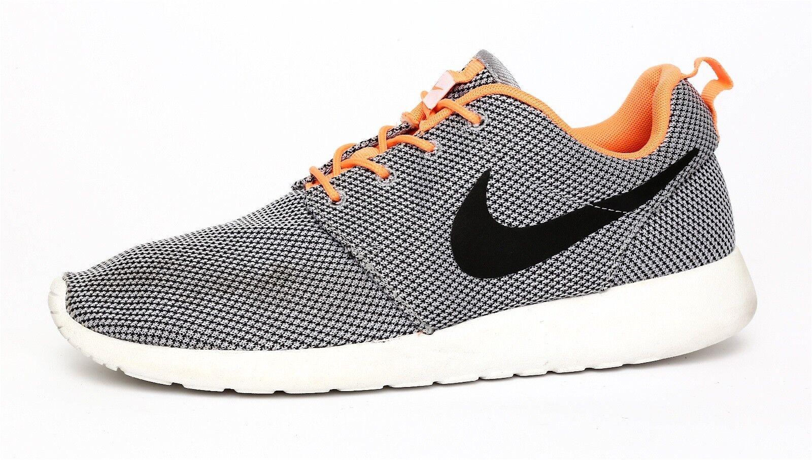 Nike Roshe Run Men's Grey Black Sneaker Sz 9.5 2972