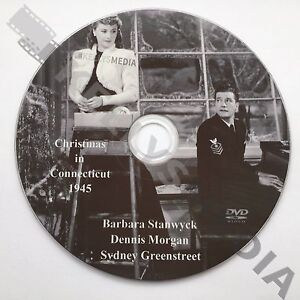 Christmas In Connecticut Dvd.Details About Christmas In Connecticut 1945 Dvd Barbara Stanwyck Dennis Morgan Comedy Drama