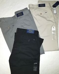 Polo-Ralph-Lauren-Polo-Mens-Classic-fit-Chinos-Pants-Flat-front