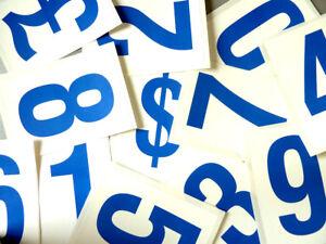 115mm 103cm BLEU SUR BLANC numéros collant-numérotation stickers-Plastic Labels JK5DwUdZ-07135318-989087669