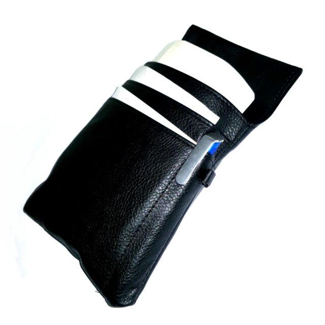 Waiter's Money Pouch Case Holster Waiter's Holster Belt Bag Waiter Wallet, Black