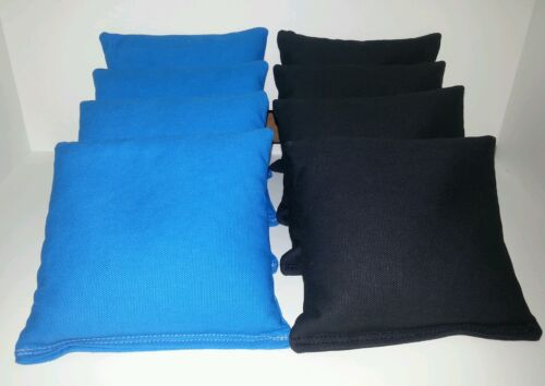 SET OF 8 ALL WEATHER BLACK /& TURQUOISE PANTHERS JAGUARS CORNHOLE BAGS FREE SHIP
