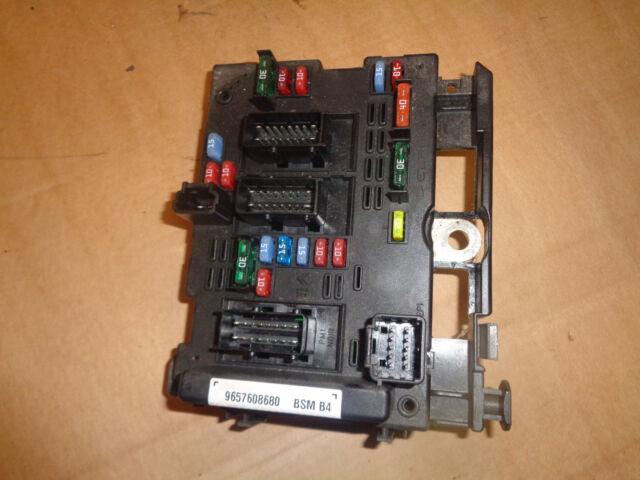 freepost peugeot citroen bsm b4 engine bay fusebox 9657608680 delphi 1997 ford explorer fuse box diagram peugeot 307cc 2005 1 6 16v petrol nfu bsm under bonnet fuse box 9657608680