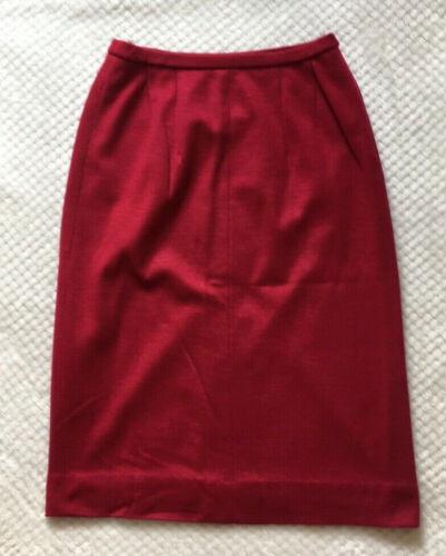 1950's 60's Vintage Bright Pink Skirt
