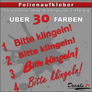TE3-Folienaufkleber-Text-Schriftzug-034-Bitte-klingeln-034-Klingel-12x2-3cm
