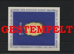 Germany-GDR-DDR-R-d-a-Vintage-1964-Mi-Bloc-21-Timbres-Used-Plus-Sh-Boutique