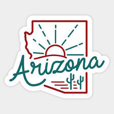 E1003 ARIZONA HOME STATE Decal Sticker for Car Truck SUV Van LAPTOP MIRROR WALL