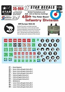 Star-Decals-1-35-British-49th-Polar-Bear-Infantry-Division-Formation-amp-AoS-35964