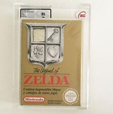 THE LEGEND OF ZELDA UKG VGA 85 NM+  FACTORY SEALED BRAND NEW! Nintendo NES 1991