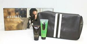 Aramis-Mens-Grooming-Kit-Toiletries-Bag-with-50ml-Shampoo-amp-30ml-Aftershave-Balm