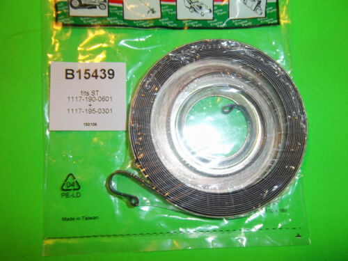 NEW RECOIL STARTER SPRING FITS STIHL CHAINSAWS PIPESAWS 11171900601 15439 BTT