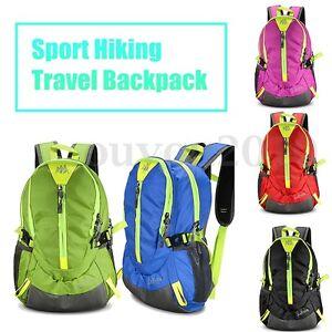 329247bf7 Sport Hiking Travel Backpack Rucksack Outdoor Camping Daypack School Bag  Pack
