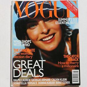 1997 May VOGUE 90s vintage magazine Vivienne Westwood Rifat Ozbek Lacroix