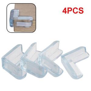4pcs Table Corner Protector Edge Cushion Child Head Protection UK Seller FreeP/&P