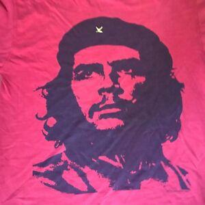 Vintage-Mens-Retro-Che-Guevara-T-shirt-Tee-Large-L