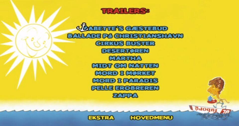 MARTHA - DANSK FILM, instruktør Erik Balling, DVD