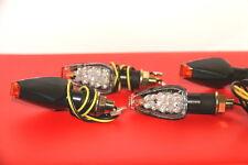 4X LED KTM 690 Duke,Enduro R,SMC/SM R,600 4S MINIBLINKER SCHWARZ DEVIL KLARGLAS