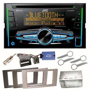 JVC-KW-R920BT-Autoradio-Bluetooth-CD-USB-Einbauset-fuer-Ford-Kuga-Fusion-Galaxy