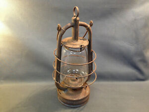 Antik Lampe Storm Rechts Öl Vintage Deko Chalet Berg Savoyen Dr Patent