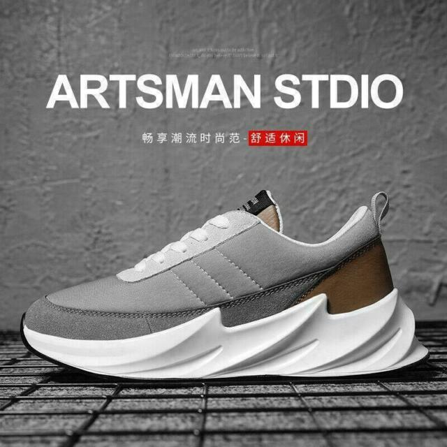Mens Shoes Best Running Sneakers Thick