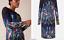 Phase-Eight-UK-20-Black-Kris-Floral-Placement-Print-Long-Sleeve-Pencil-Dress-48 thumbnail 6