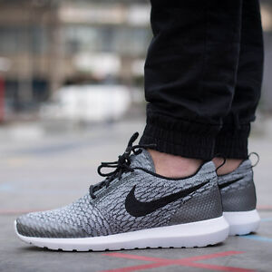 new product bbeb9 5d3dd Image is loading NIKE-ROSHE-NM-FLYKNIT-SE-Trainers-Rosherun-Gym-